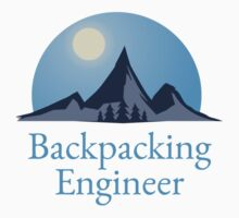Backpacking Engineer Logo T-shirt by msbpackengineer