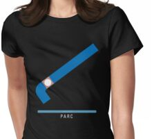 Station Parc Womens Fitted T-Shirt