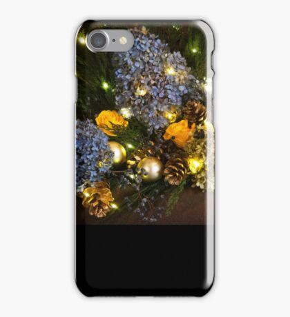 Happy Holidays Roses iPhone Case/Skin
