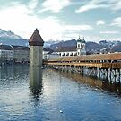 Kapelbruecke - Luzern - Switzerland by Arie Koene