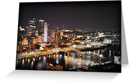 Greetings from Mt Washington, Pittsburgh, Pennsylvania by Robert Plummer