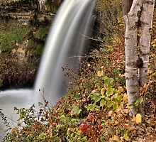 Minnehaha Waterfall Miinnesota Minneapolis Hiawatha Park by pictureguy