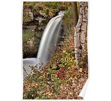 Minnehaha Waterfall Miinnesota Minneapolis Hiawatha Park Poster