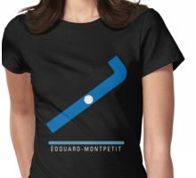 Station Édouard-Montpetit Womens Fitted T-Shirt