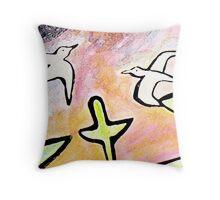 Terns Throw Pillow