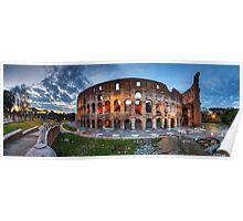 Colosseo Panorama Poster