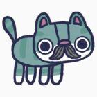 Mustachio, the well groomed hackycat by hackycat