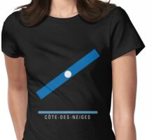 Station Côte-des-Neiges Womens Fitted T-Shirt
