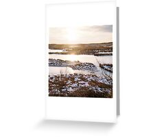 Twilight, Plum Island, January 2013 Greeting Card