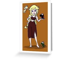 Dragon Princess, mother of Yoshis Greeting Card