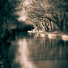 Canal in Winter by Sarah Walters