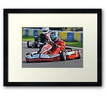 Unknown driver #9 Framed Print