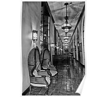 The Loggia at Night Poster