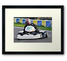 Unknown driver #46 Framed Print