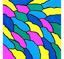 THE COLOR WAVE Photographic Print