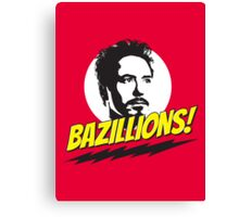 Bazillions! Canvas Print
