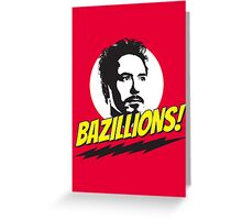 Bazillions! Greeting Card