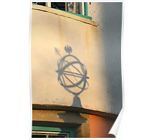 Globe Shadow Poster