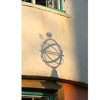 Globe Shadow Photographic Print