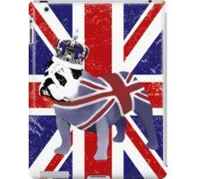 English Bulldog and Crown iPad Case/Skin