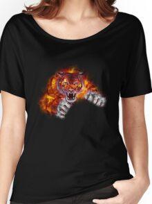 Fire Tiger Women's Relaxed Fit T-Shirt