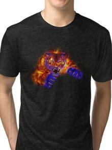Fire Tiger Tri-blend T-Shirt