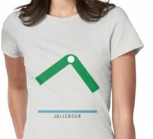 Station Jolicoeur Womens Fitted T-Shirt