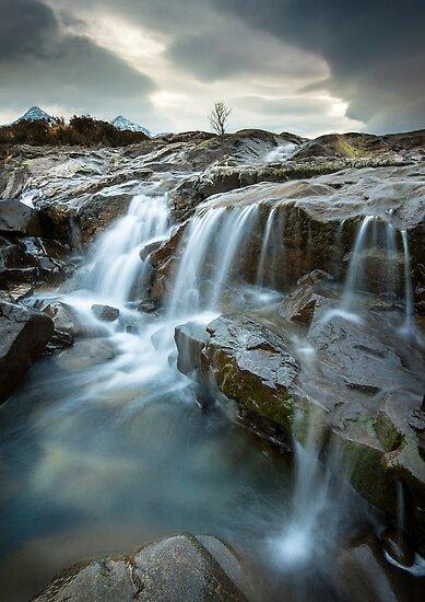 Isle of Skye: Sligachan Waterfalls by Angie Latham