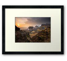 Isle of Skye: Quiraing Sunrise Framed Print