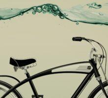 wet wheels Sticker