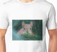 Baby Squirrel in the Fur Tree Unisex T-Shirt