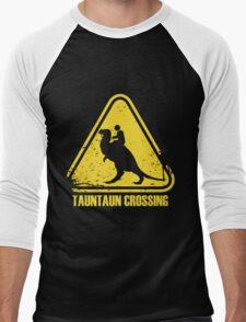 Beware! Tauntaun Crossing! Men's Baseball ¾ T-Shirt