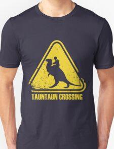 Beware! Tauntaun Crossing! Unisex T-Shirt