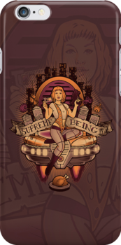 Supreme Being - IPHONE CASE by MeganLara