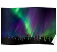 St Paddy's Day Auroras...#4 ...Colour Explosion Poster