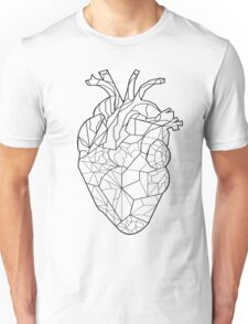 Line Art Heart Unisex T-Shirt