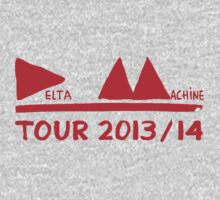 Depeche Mode : Tour 2013/14 Delta Machine - Red by Luc Lambert