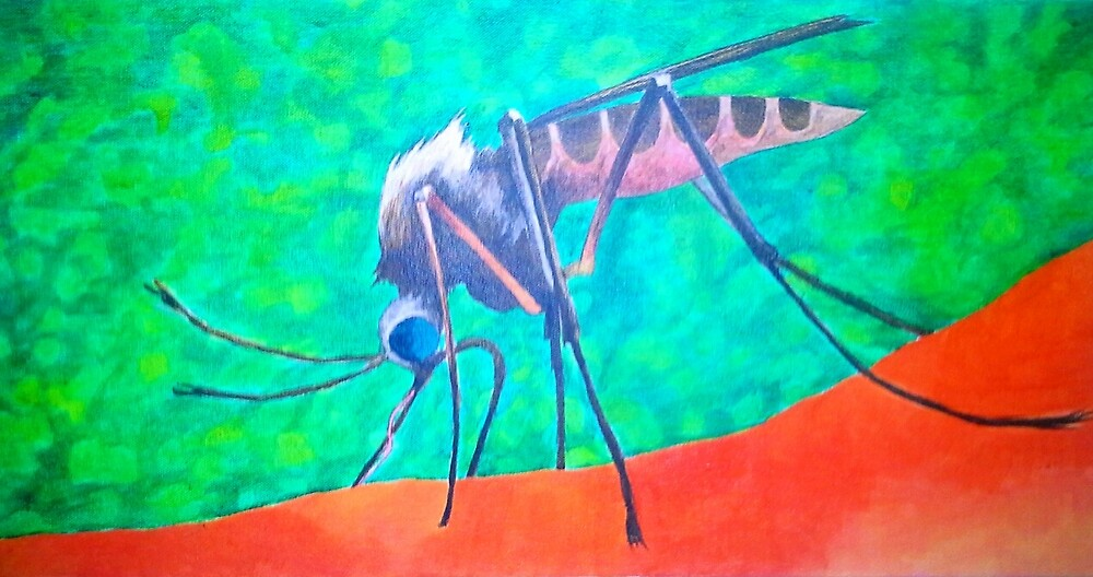 mosquito  by Roy Northrop