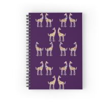 Reticulated Laughing Giraffe Spiral Notebook