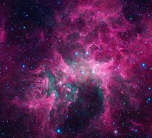 Galaxy universe by Dorian Legret