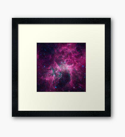 Galaxy universe Framed Print