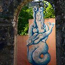 Môr-forwyn Portmeirion Mermaid by Louise Green