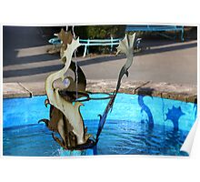 Dolphin Wishing Well Poster