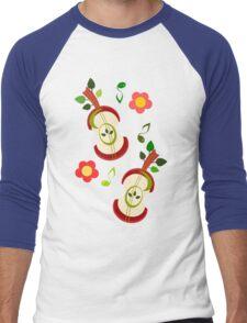 Apple Music Men's Baseball ¾ T-Shirt