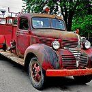 1940 Fire Truck by gharris