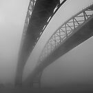 Bridge in the Fog by gharris