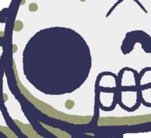 Bones, the skeleton hackycat Sticker