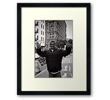I never really looked up before - San Francisco - USA Framed Print