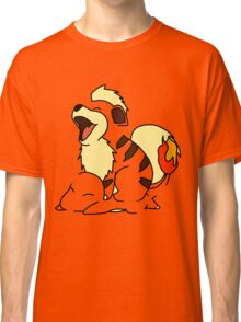 Growlithe Use Tackle! Classic T-Shirt