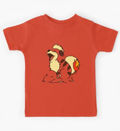 Growlithe Use Tackle! Kids Tee